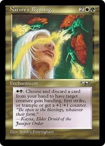 Magic the Gathering Alliances Single Card Uncommon Nature's Blessing