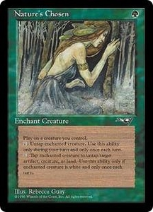 Magic the Gathering Alliances Single Card Uncommon Nature's Chosen
