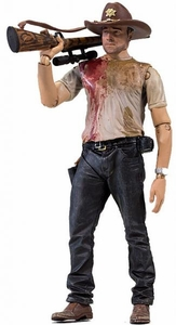 McFarlane Toys Walking Dead TV Series 2 Action Figure Deputy Rick Grimes [Interchangeable Hands & Weapons!]