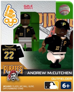 OYO Baseball MLB Generation 2 Building Brick Minifigure Andrew McCutchen [Pittsburgh Pirates]