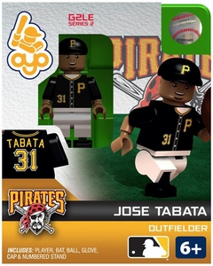 OYO Baseball MLB Generation 2 Building Brick Minifigure Jose Tabata [Pittsburgh Pirates]