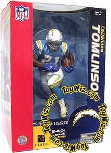 McFarlane Toys NFL Sports Picks 12 Inch Deluxe Action Figure LaDainian Tomlinson (San Diego Chargers) Light Blue Jersey