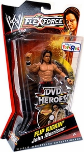 Mattel WWE Wrestling FlexForce Exclusive DVD Heroes Series 2 Flip Kickin' John Morrison BLOWOUT SALE!