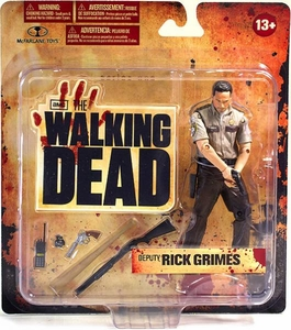 McFarlane Toys Walking Dead TV Series 1 Action Figure Deputy Rick Grimes