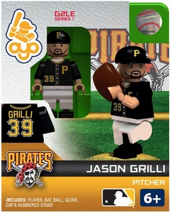 OYO Baseball MLB Generation 2 Building Brick Minifigure Jason Grilli [Pittsburgh Pirates]