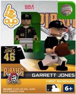 OYO Baseball MLB Generation 2 Building Brick Minifigure Garrett Jones [Pittsburgh Pirates]