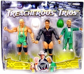 WWE Wrestling Exclusive Series 9 Treacherous Trios Action Figure 3-Pack Finlay, JBL & Hornswoggle