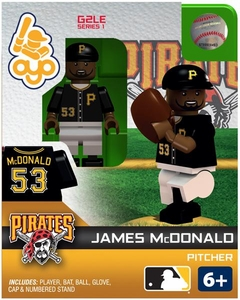 OYO Baseball MLB Generation 2 Building Brick Minifigure James McDonald [Pittsburgh Pirates]