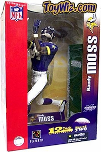 McFarlane Toys NFL Sports Picks 12 Inch Deluxe Action Figure Randy Moss (Minnesota Vikings) Purple Jersey