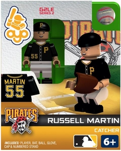 OYO Baseball MLB Generation 2 Building Brick Minifigure Russell Martin [Pittsburgh Pirates]