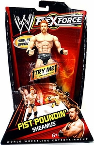Mattel WWE Wrestling FlexForce Fist Poundin Action Figure Sheamus