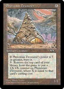 Magic the Gathering Alliances Single Card Rare Phyrexian Devourer