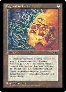 Magic the Gathering Alliances Single Card Rare Phyrexian Portal