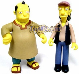 The Simpsons Celebrity 2 Figure Playmates Exclusive Set Llewellyn Sinclair & Cooder