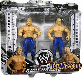 WWE Jakks Pacific Wrestling Adrenaline Series 10 Action Figure 2-Pack The Bashams