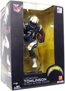 McFarlane Toys NFL Sports Picks 12 Inch Deluxe Action Figure  LaDainian Tomlinson (San Diego Chargers) Dark Blue Jersey