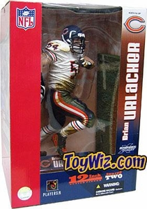 McFarlane Toys NFL Sports Picks Exclusive 12 Inch Deluxe Action Figure Brian Urlacher (Chicago Bears) White Jersey Variant Damaged Package, Mint Contents!