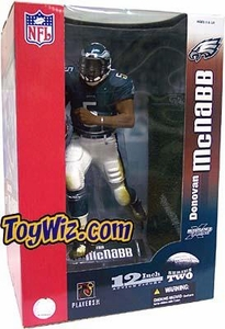 McFarlane Toys NFL Sports Picks 12 Inch Deluxe Action Figure Donovan McNabb (Phiadelphia Eagles) Green Jersey