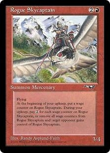 Magic the Gathering Alliances Single Card Rare Rogue Skycaptain
