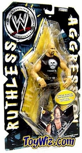 WWE Jakks Pacific Wrestling Action Figure Ruthless Aggression Series 9 Steve Austin