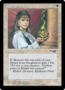 Magic the Gathering Alliances Single Card Common Royal Herbalist [Random Artwork]