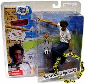McFarlane Toys Napoleon Dynamite Series 1 Action Figure Napoleon in Vote For Pedro T-Shirt