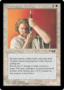 Magic the Gathering Alliances Single Card Uncommon Scars of the Veteran