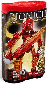 LEGO Bionicle STARS Set #7116 Tahu [Red]