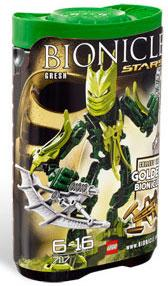 LEGO Bionicle STARS Set #7117 Gresh [Green]