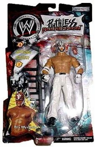 WWE Jakks Pacific Wrestling Action Figure Ruthless Aggression Series 1 Rey Mysterio