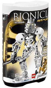 LEGO Bionicle STARS Set #7135 Takanuva [White]