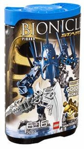 LEGO Bionicle STARS Set #7137 Piraka [Blue]