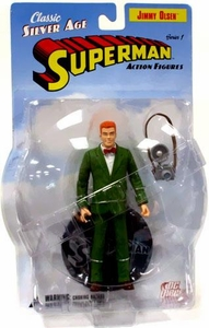 DC Direct Silver Age Superman Action Figure Jimmy Olsen