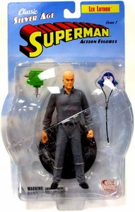 DC Direct Silver Age Superman Action Figure Lex Luthor