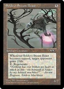 Magic the Gathering Alliances Single Card Common Soldevi Steam Beast [Random Artwork]