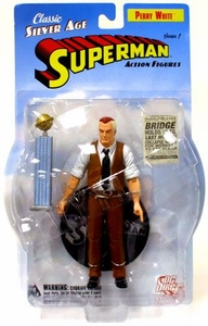 DC Direct Silver Age Superman Action Figure Perry White
