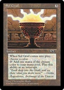 Magic the Gathering Alliances Single Card Uncommon Sol Grail