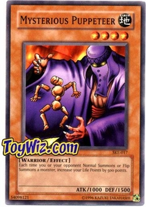 YuGiOh American Kaiba Evolution Deck Single Cards SKE-017 Mysterious Puppeteer