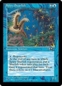 Magic the Gathering Alliances Single Card Uncommon Spiny Starfish