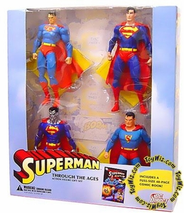 DC Direct Action Figure Gift Set 4-Pack Superman Through The Ages