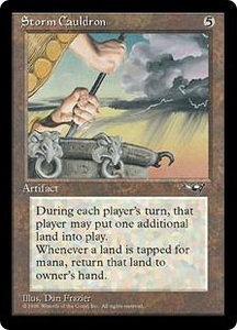 Magic the Gathering Alliances Single Card Rare Storm Cauldron
