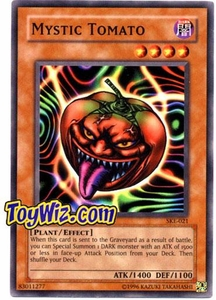 YuGiOh American Kaiba Evolution Deck Single Card SKE-021 Mystic Tomato