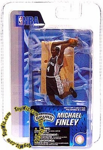 McFarlane Toys NBA 3 Inch Sports Picks Series 4 Mini Figure Michael Finley (San Antonio Spurs)