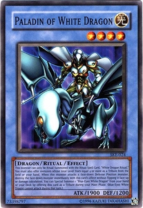 YuGiOh American Kaiba Evolution Deck Single Cards SKE-024 Paladin of White Dragon