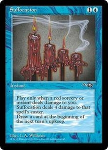Magic the Gathering Alliances Single Card Uncommon Suffocation