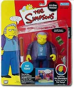 The Simpsons Celebrity Playmates Series 1 Joe Montegna as Fat Tony