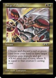 Magic the Gathering Alliances Single Card Uncommon Surge of Strength