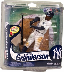 McFarlane Toys MLB Sports Picks Series 30 Action Figure Curtis Granderson (New York Yankees) Pinstripes Uniform