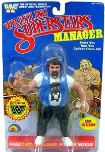 WWF LJN Wrestling Superstars Captain Lou Albano White Shirt Variant