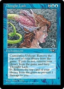 Magic the Gathering Alliances Single Card Rare Thought Lash